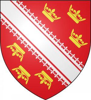 Le blason de l\'Alsace, arborée de couronnes en disant long sur son passé