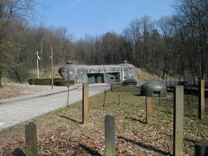 Le Bloc 7, entrée des munitions du fort