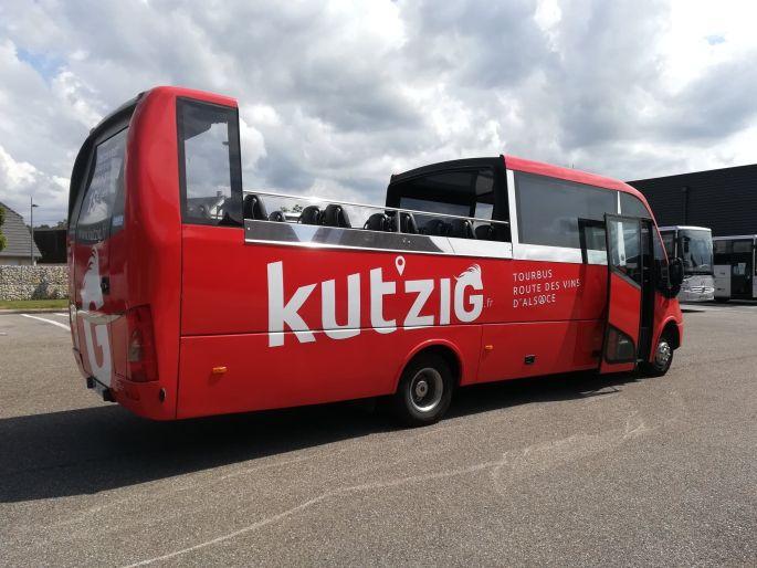 Le bus en musique à Colmar