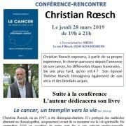 Le cancer : un tremplin pour la vie