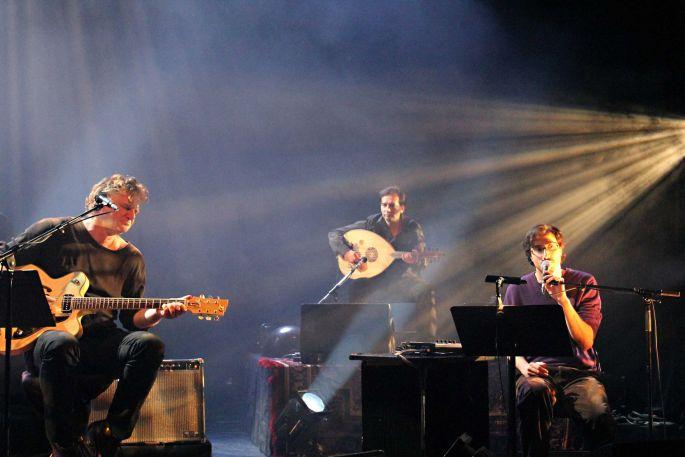 Le Cantique des Cantiques par Rodolphe Burger et ses musiciens