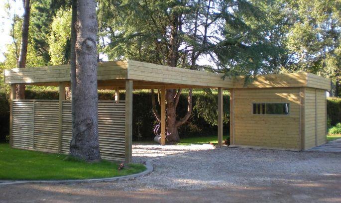 Le carport pour camping-car ou caravane