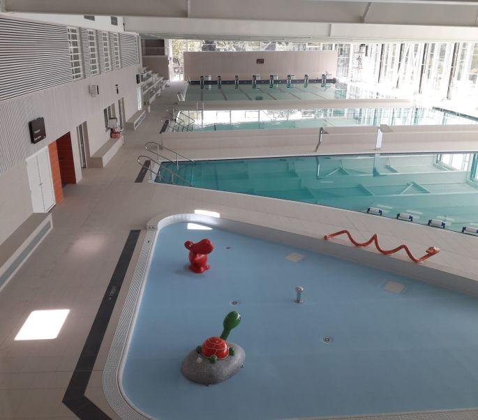 Le centre aquatique Nautilia à Guebwiller