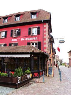 Le Chambard à Kaysersberg