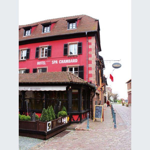 Le chambard h tel restaurant gastronomique et spa for Michelin hotel france