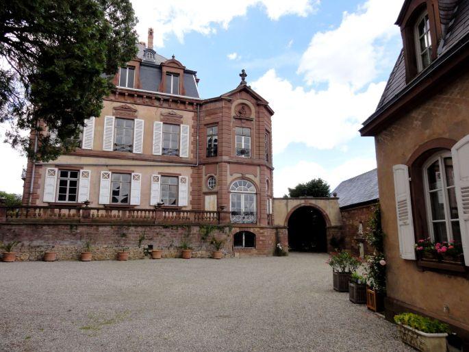 Le château de Frœschwiller
