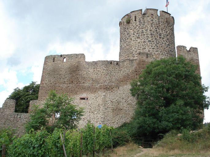 Le château de Kaysersberg