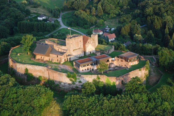 Le château de Lichtenberg