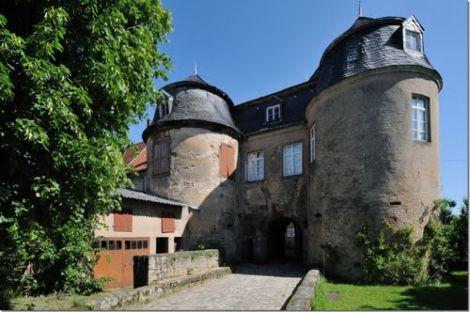 Le château de Lorentzen peut aujourd\'hui accueillir jusqu\'à 60 voyageurs