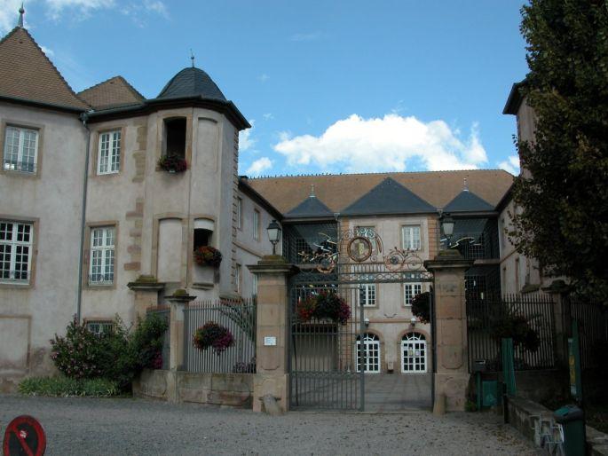 Le château de Mutzig est aujourd\'hui un fort point culturel de Mutzig