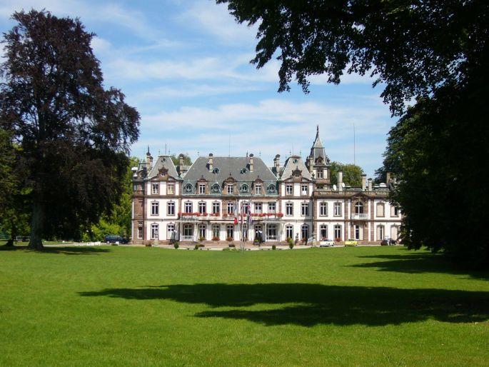 Le château de Pourtalès près de Strasbourg