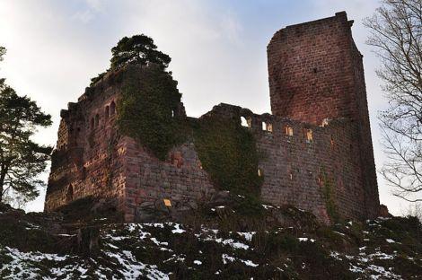 Le château du Landsberg, un des multiples vestiges de la puissance féodale de l\'Alsace au Moyen Age
