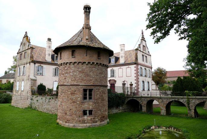 Le château médiéval d'Osthoffen