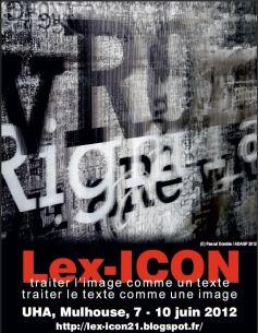 Le colloque Lex-ICON propose rencontres, performances, lectures et interventions sur les créations artistiques contemporaines