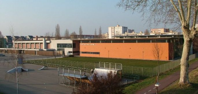 Le Complexe sportif du Lixenbuhl accueille les matchs de handball du club d\'Illkirch