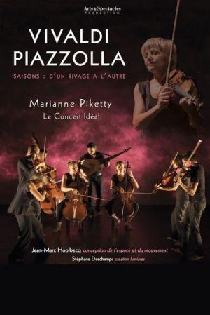 Le Concert Idéal :  Vivaldi Piazolla : d\'un rivage à l\'autre