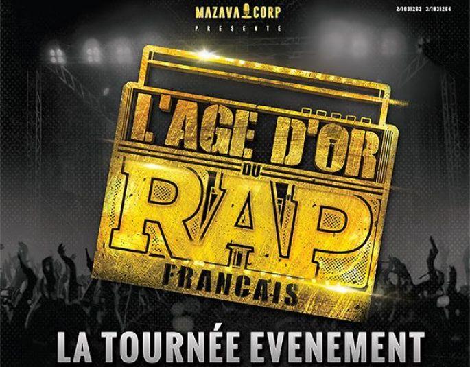 Le concert L'âge d'or du rap français