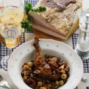 Le recette du faisan aux poires