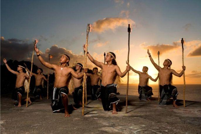 Le folklore de l\'île de Guam est représenté lors du Festival du Houblon à Haguenau en 2012