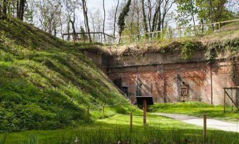 Le Fort Kléber à Wolfisheim, un des 19 anciens ouvrages de défense de Strasbourg
