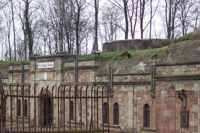 Le Fort Rapp protégeait fièrement Strasbourg des tirs d\'artillerie