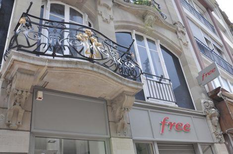 Le Free Center mulhousien se situe rue Mercière à Mulhouse