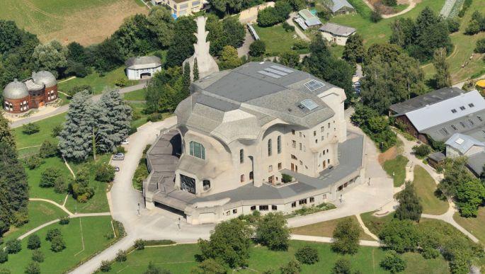 Le Goetheanum de Rudolf Steiner