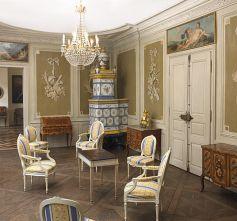 Le grand salon du Musée d\'Art et d\'Histoire de Montbéliard est classé aux Monuments Historiques