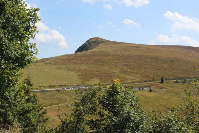 Le Hohneck et ses versants abrupts