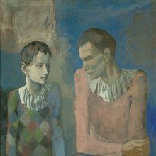Le jeune Picasso - Périodes bleue et rose