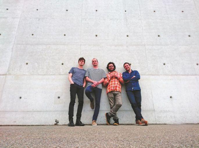 Les quatre musiciens du projet Billie(s)