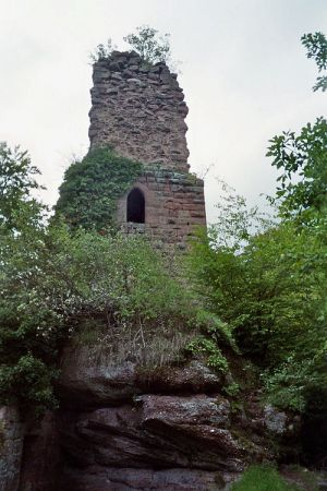 Le logis seigneurial, apparenté au Petit Greifenstein