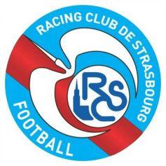 Le logo du RCS, avec la mythique cigogne et la tour unique de la Cathédrale
