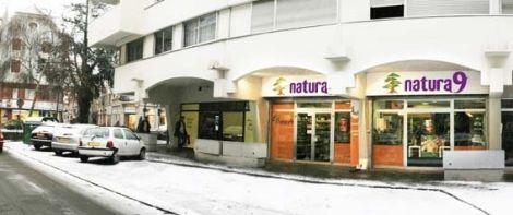 Le magasin Natura 9 à Mulhouse