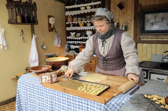 Le marché d'antan à Neuf-Brisach