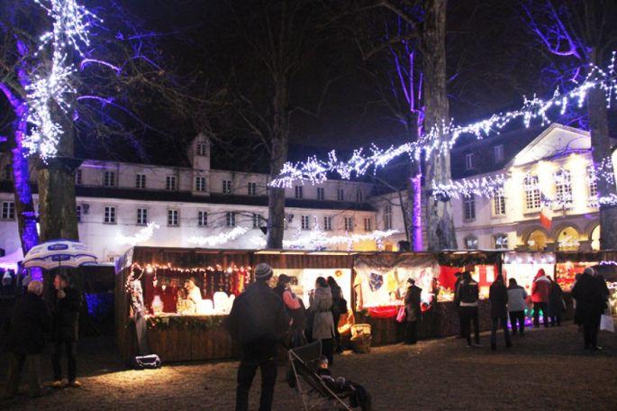 Le Marché de Noël à Rixheim, à la Commanderie