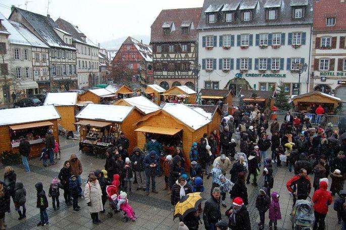 Le marché de Noël de Molsheim, un rendez-vous médiéval