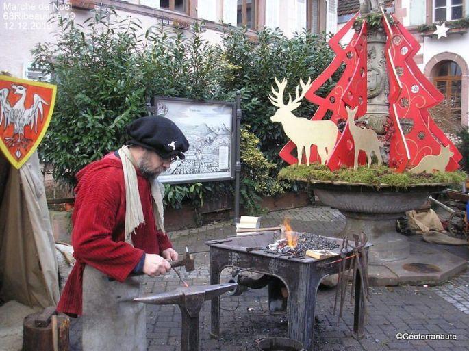 Le marché de Noël médiéval de Ribeauvillé