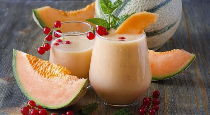 Le milk shake au melon