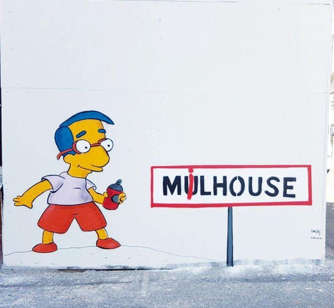 Le mobilier urbain se la joue street art