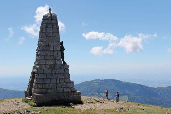 Le monument des Diables Bleus