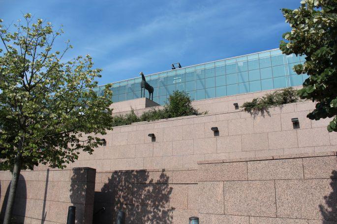 Le musée d'Art Moderne et Contemporain