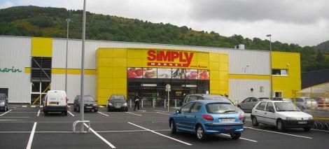 Le nouveau Simply Market de Saint Amarin