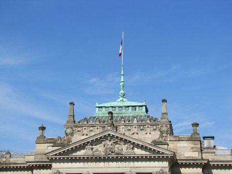 Le Palais de Justice de Strasbourg, datant de l\'époque allemande