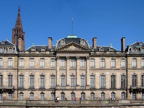 Le Palais Rohan de Strasbourg, côté rivière