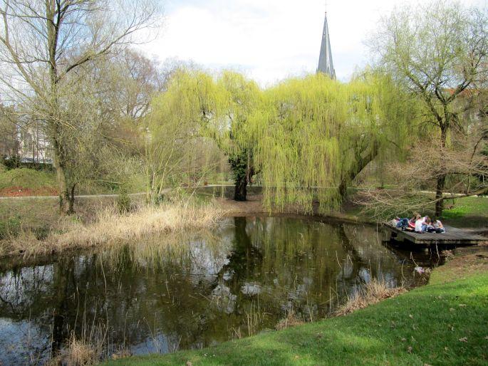 Le parc botanique de Strasbourg