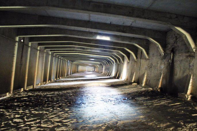 Le passage sous-terrain caché du Marché Couvert