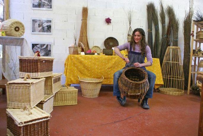 Le Charme de l'Osier, l'un des treize ateliers-boutiques  du Pavillon des Créateurs