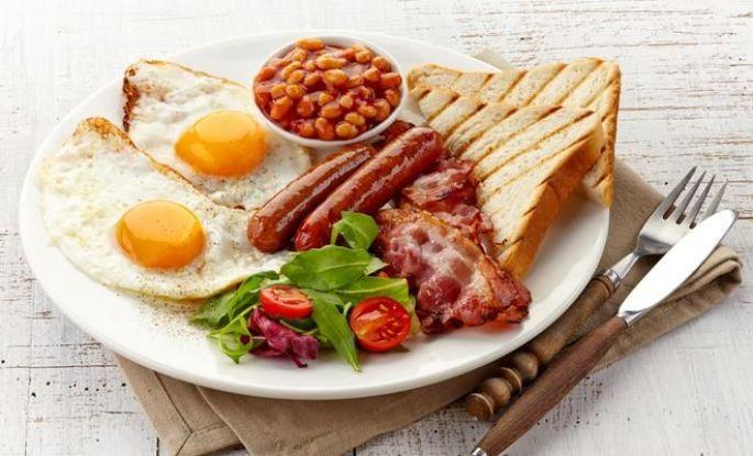 Le petit déjeuner: recette du typical english breakfast
