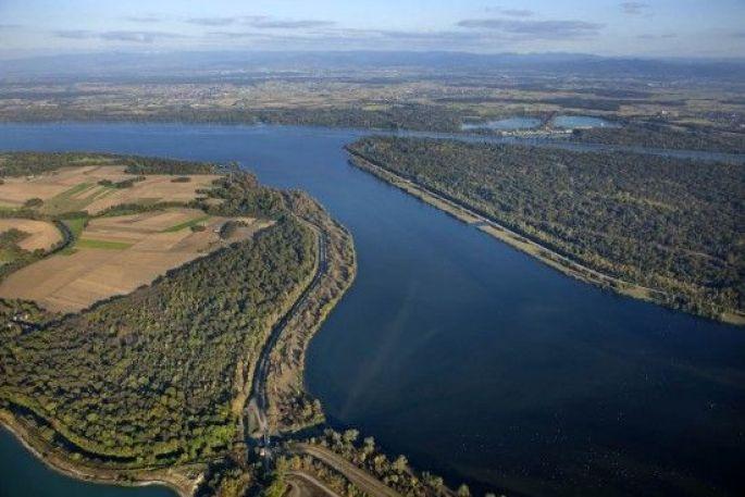 Le plan d'eau de Plobsheim
